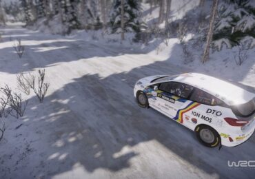Esport WRC : une Fiesta Rally3 en Suède