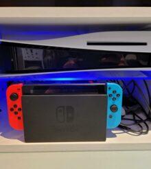 PS5 et Switch de concert, avec une nouvelle mise à jour !