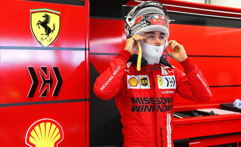 Charles leclerc, Ferrari F1