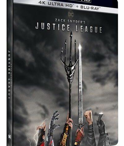 justice league snyder cut 4k steelbook