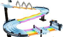 Mario Kart : le circuit de Rainbow Road en miniature chez Hot Wheels !!