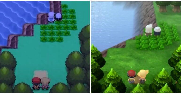 Pokémon diamant comparaison