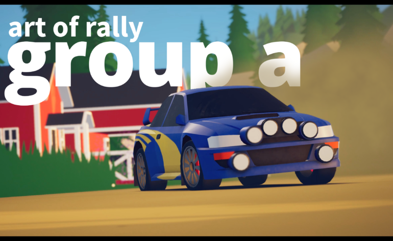 art of rally bientôt sur Xbox One et Xbox Series !