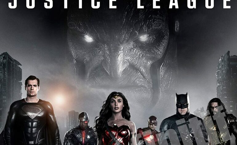 justice league snyder cut blu-ray