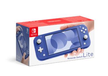 switch lite bleue nouvelle