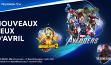 PS5 : le PS Now est gratuit, 3 nouveaux jeux offerts en avril !