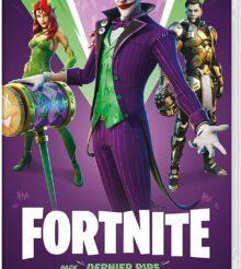 Switch : Fortnite, Pack Dernier Rire (avec le Joker) en stock le 17 avril