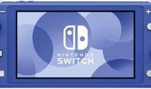 Vous pouvez réserver la nouvelle Nintendo Switch Lite de couleur bleue !