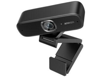 webcam anker télétravail