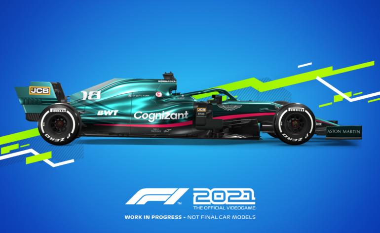 F1 2021 aston martin