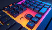 Gaming : Roccat lance les claviers éclairés RGB Magma et Pyro
