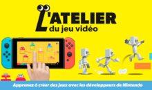 Switch : avec son atelier du jeu vidéo, Nintendo nous prend (encore) de cours !