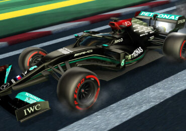 rocket league mercedes F1