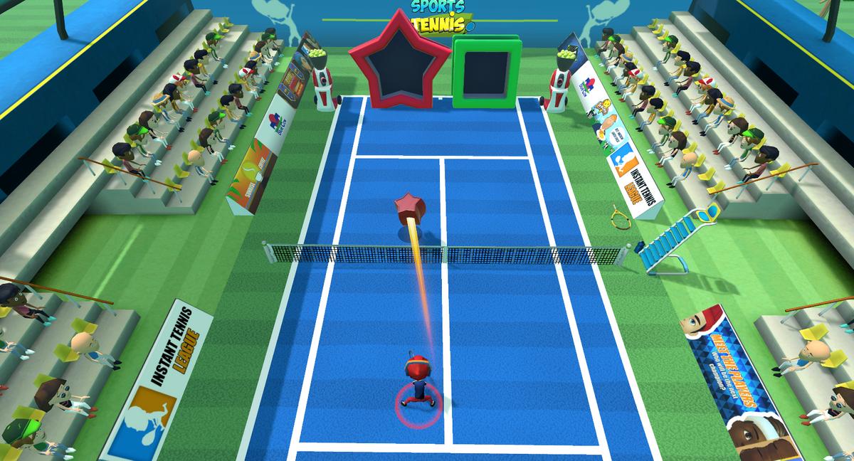 tennis instant sport