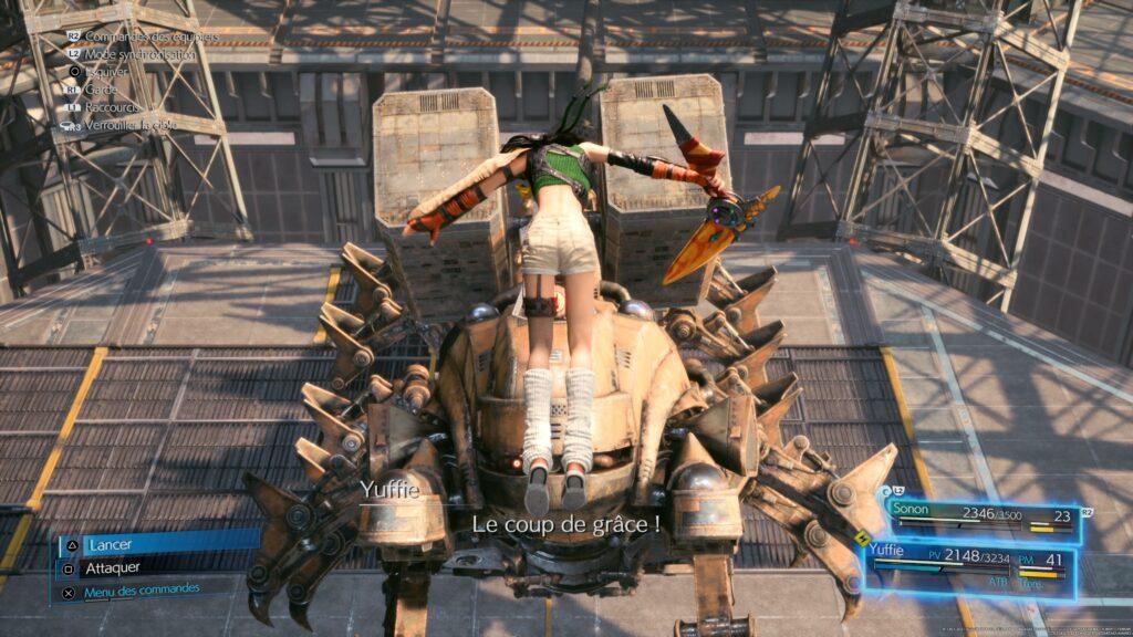 Yuffie Final Fantasy VII Remake Intergrade