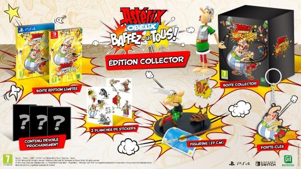 Astérix & Obélix: Baffez-les Tous! édition collector