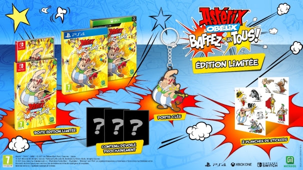 Astérix & Obélix: Baffez-les Tous! édition limitée