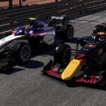 Yuki Tsunoda dans F1 2021 en Formule 2 à Monaco