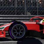 Mick Schumacher en Formule 2 dans F1 2021 à Monaco