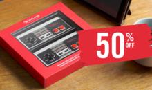 -50% sur les manettes NES officielles