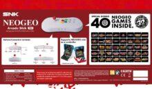 Soldes : le Neo geo Arcade Stick Pro et ses 40 jeux bradé !