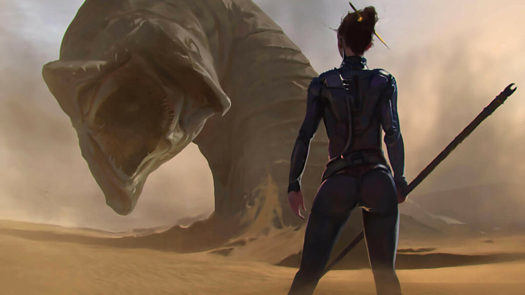 En France, Dune botte les fesses de Black Widow et Kamelott !