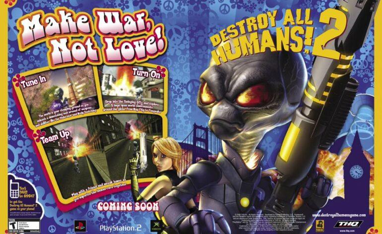 Destroy All Humans! 2 - Reprobed fuité par Playstation !