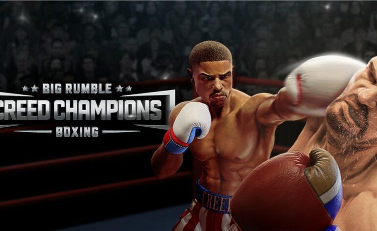 creed champions big rumble boxing
