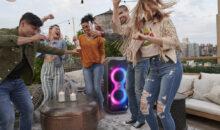 PartyBox 710 et PartyBox 110 : son et lumière, pour les fêtards !