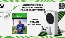 Bon plan : 299 euros la Xbox Series avec FIFA 22 (pack), aujourd'hui !